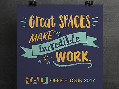 RAD Office Tour print