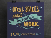 RAD Office Tour print
