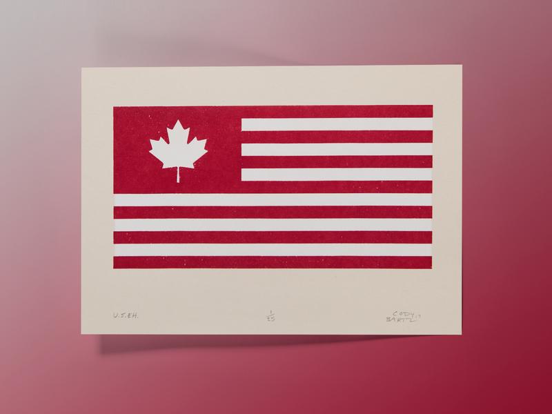 U.S.EH. - Screenprint