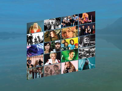 MWMF 2020 Bands musicfestival design music