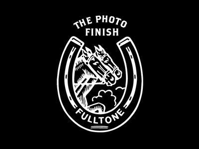 Fulltone Film Lab film phorography logo vintage horse horseshoe