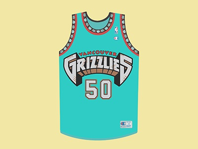 Bryant Reeves Big Country Jersey nba sports champion jersey basketball vancouver bryant reeves grizzlies