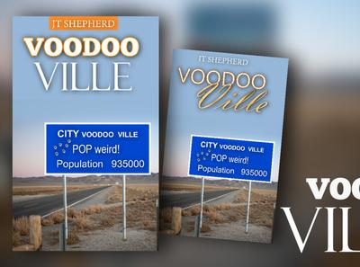Social media Voodoo Ville illustration design photoshop branding illustrator book cover adobexd adobe illustrator adobe photoshop graphicdesign