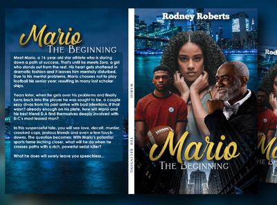 Mario (Urban Book Cover) designer illustration photoshop branding illustrator book cover adobexd adobe illustrator adobe photoshop graphicdesign
