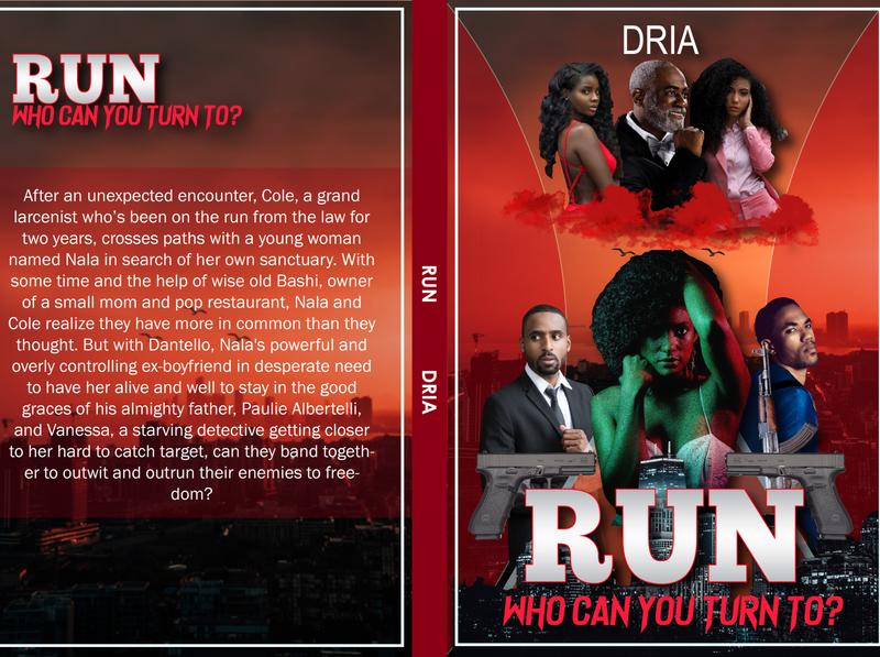 Run (Action Book Cover) designer illustration photoshop branding illustrator book cover adobexd adobe illustrator adobe photoshop graphicdesign