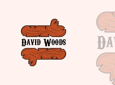 David woods logo concepts web typography vector icon minimal logo design design minimal logo minimal logo flat design