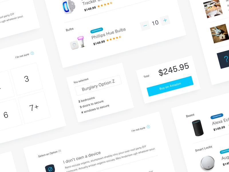Amazon Smart Home UI web app website product design smart home branding retail design ui ux iot product amazon web design