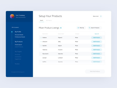 From the Archives: Healthcare Onboarding ui design ui  ux product page onboarding ui medical pharmaceutical design ux healthcare user flow onboarding product design uiux ui product
