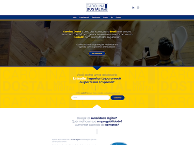Carolina Dostal illustration web branding