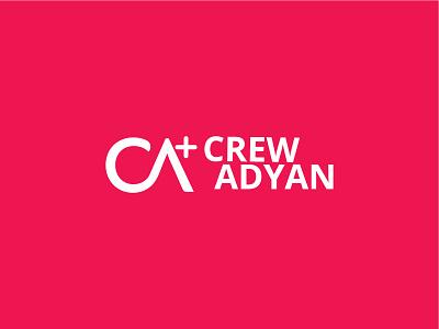 Crew Adyan health branding design colors corporate branding logo