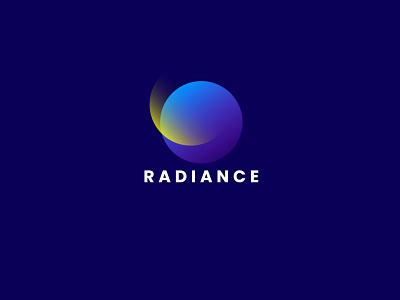 RADIANCE LOGO DESIGN corporate design gradient logo gradient minimal minimal logo colors graphic design branding logo