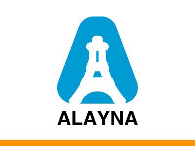 Alayna Logo logo trends 2020 branding and identity modern design minimalist logo modern logo lettermark branding concept branding design brandidentity branding brand logofield logodesigner logo collection logofolio logotype logo design logo graphicdesign design