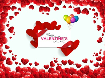 Happy Valentine Day design 14feb heart love poster banner valentinesday advertising illustration creative graphicdesign