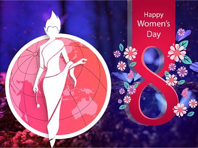 International Women's Day vector photoshop illustrations womensday womens march 8 march internationalwomensday 8m girl female women gender equality feminism feminist girl power iwd womens day women empowerment