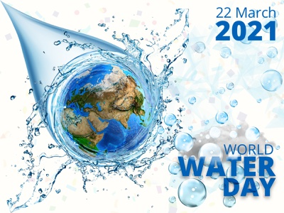 World Water Day graphicdesign illustration energy nature pure water save water creative design poster drink world water day waterfall water