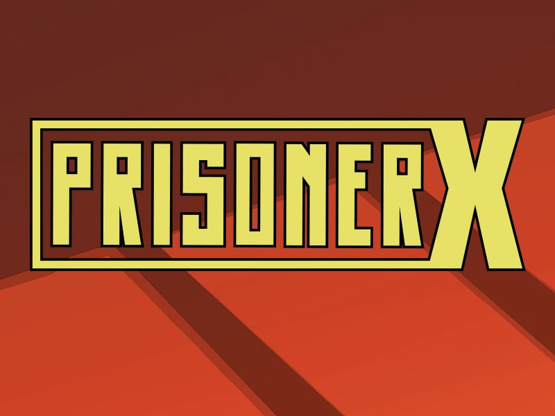 Prisoner X logo x-men comics marvel