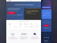 Mailgun Homepage