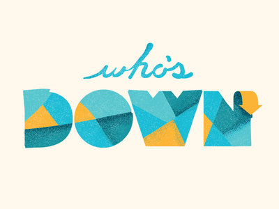 Who's Down Logo