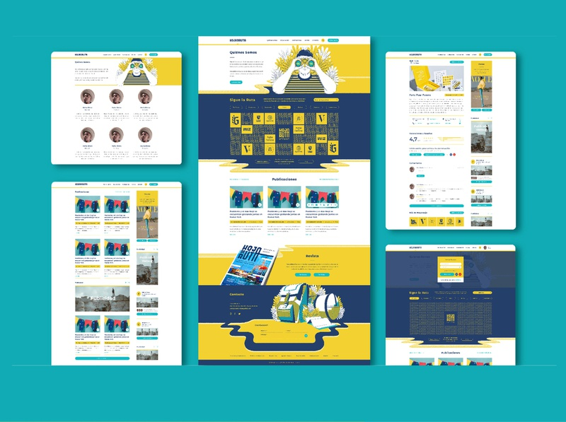 Website Design Hoja de Ruta