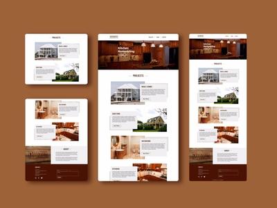 Web Design // WoodWork