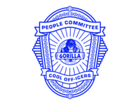 The People Committee Police Badge