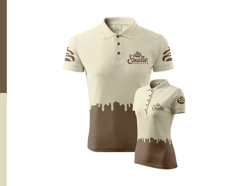 Uniform shirts chococream delicious uniform design uniform cream chocolate sweet shirt design shirt