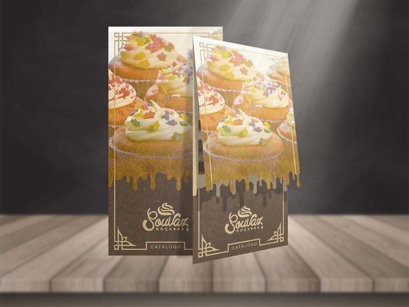 """SouVaz"" Catalog sweetness sweety delicate cream delicious caramel golden sweet chocolate menu catalogue catalog"