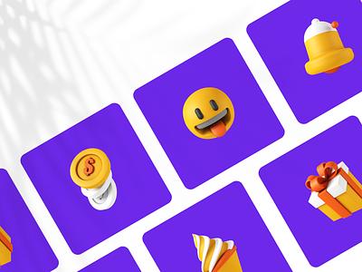 Cute 3D Icon icon