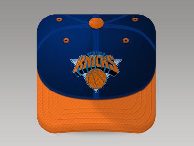 Knicks fan cap basket basketball cap knicks basket icon knicks icon app icon ios icon