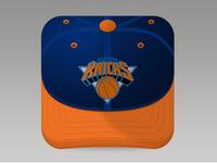 Knicks fan cap