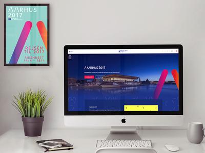 Aarhus 2017 - European Capital of Culture web nordic event identity branding culture website ui