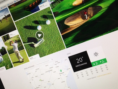 Golf website image gallery sport map gallery image video weather green golf