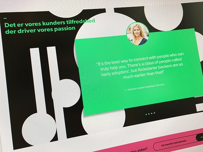 Quote circle quotes shapes green customer quote
