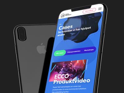 Videofabrikken caselist tabs blue cases fluent video mobile