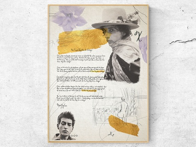 Bob Dylan art artist poster art drawing music portrait illustration poster bob dylan