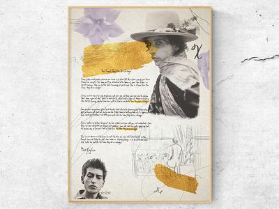 Bob Dylan art artist poster art drawing music portrait illustration poster bob dylan