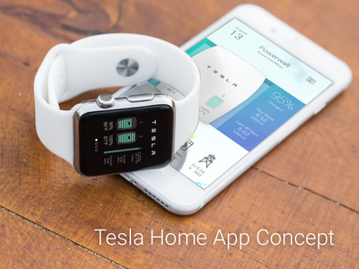 Tesla Home Concept miamidribbble