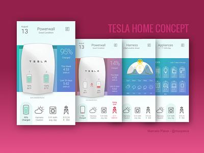 Tesla Home Concept prototyping battery energy tesla