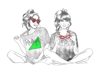 band tees fashion illustration fashion drawing girls band tees rock and roll blogger fashion blogs fashion sketch pencil sketch