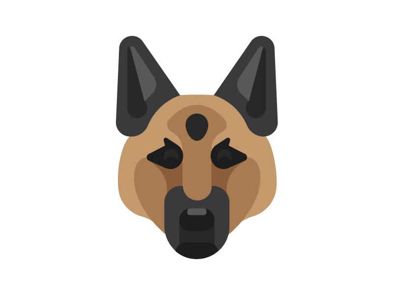 german shepherd puppy pet illustration german shepherd dog