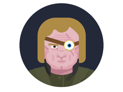 mad eye illustration avatar character wizard magic harry potter mad eye moody