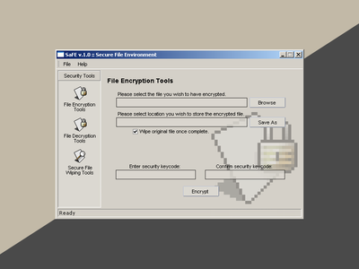 SaFE (circa 2001) old security app