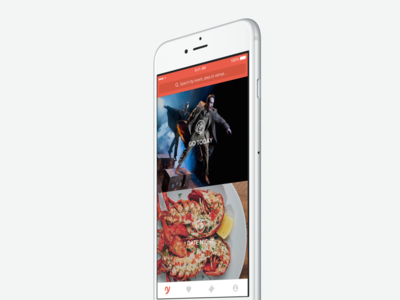 YPlan iOS redesign navigation tabs ux ui