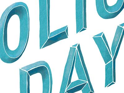 National Portfolio Day handlettering lettering typography design headline poster ccad npd national portfolio day chavilah