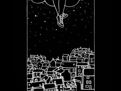 Atlas Black drawing stars wacom illustration design tshirt atlas black secret midnight press