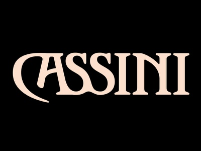 Cassini typedesign typeface font type