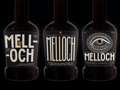 Melloch Label redesign