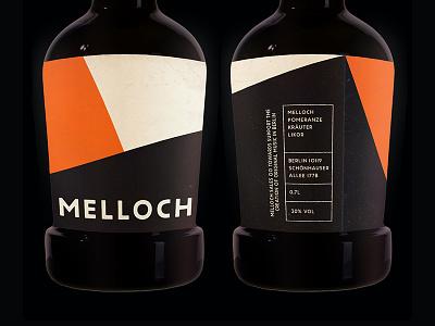 Melloch Label custom type bottle label
