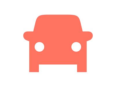 Automobile drive automobile car stroke symbols pictograms icons