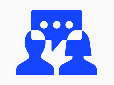 Talk the talk talking conversation people solid glyph stroke symbols pictograms icons
